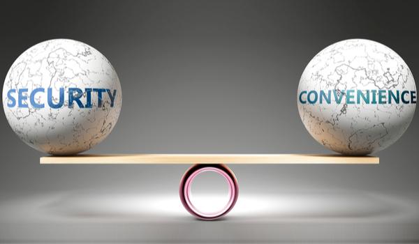 Hoe te balanceren tussen security en gebruiksgemak?